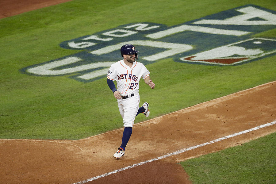 League Championship Series - New York Yankees V Houston Astros - Game Six Photograph by Tim Warner