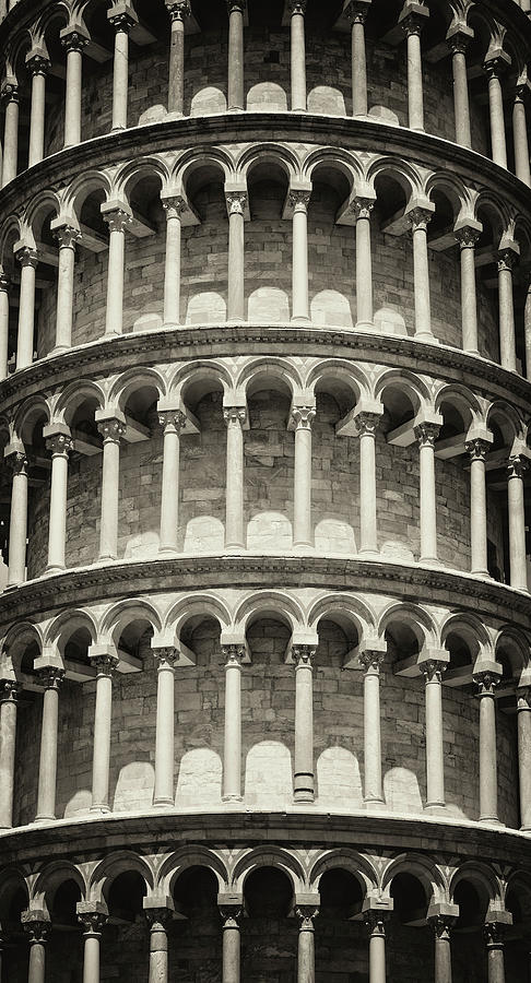 Leaning Tower Of Pisa, Tuscany Italy Photograph by Romaoslo