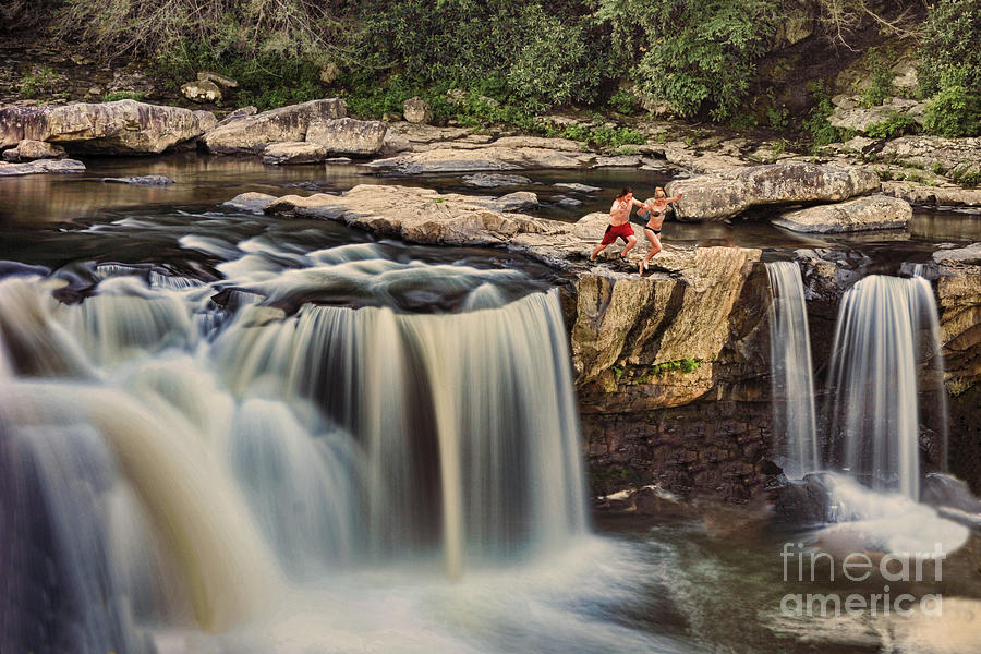Couple Photograph - Leap Of Faith by Dan Friend