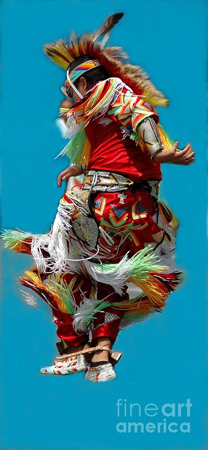 Native Photograph - Leaping Into The Air by Kathleen Struckle