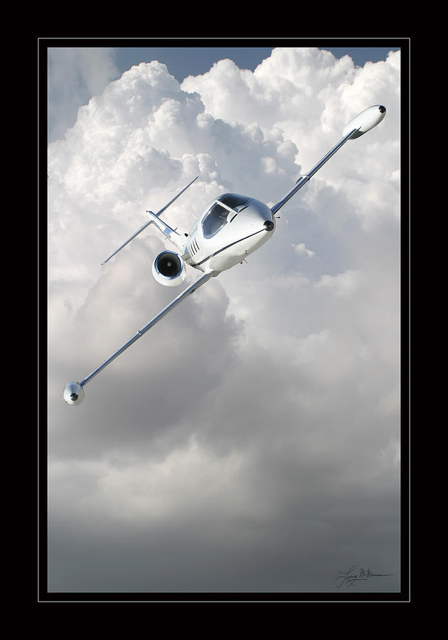 Learjet Photograph by Larry McManus