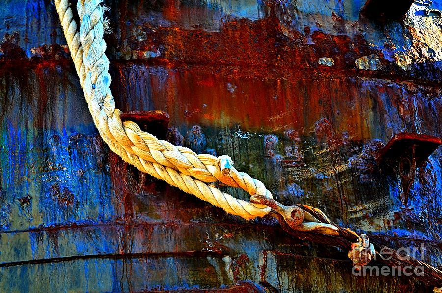 Abstract Photograph - Learning The Ropes by Lauren Leigh Hunter Fine Art Photography