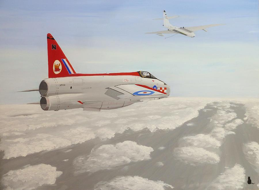 Royal Painting - Learning To Refuel by Jonathan Laverick