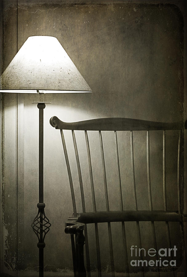 Lamp Photograph - Leave The Light On by Terry Rowe
