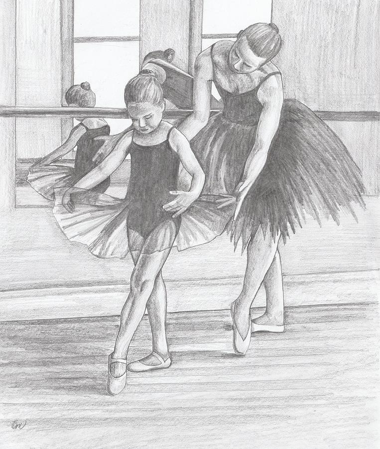 Ballet Painting - Leaving A Legacy by Beverly Marshall