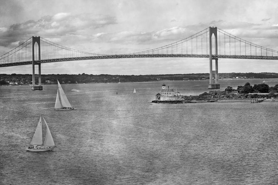 Rhode Photograph - Leaving Rhode Island by Betsy Knapp