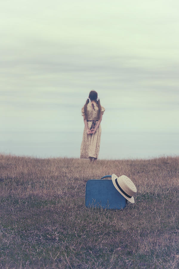 Girl Photograph - Leaving The Past Behind Me by Joana Kruse