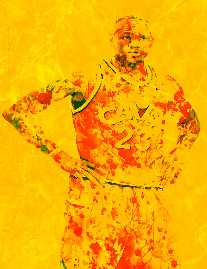 f387dc790c16 Lebron James Back Home Digital Art by Brian Reaves