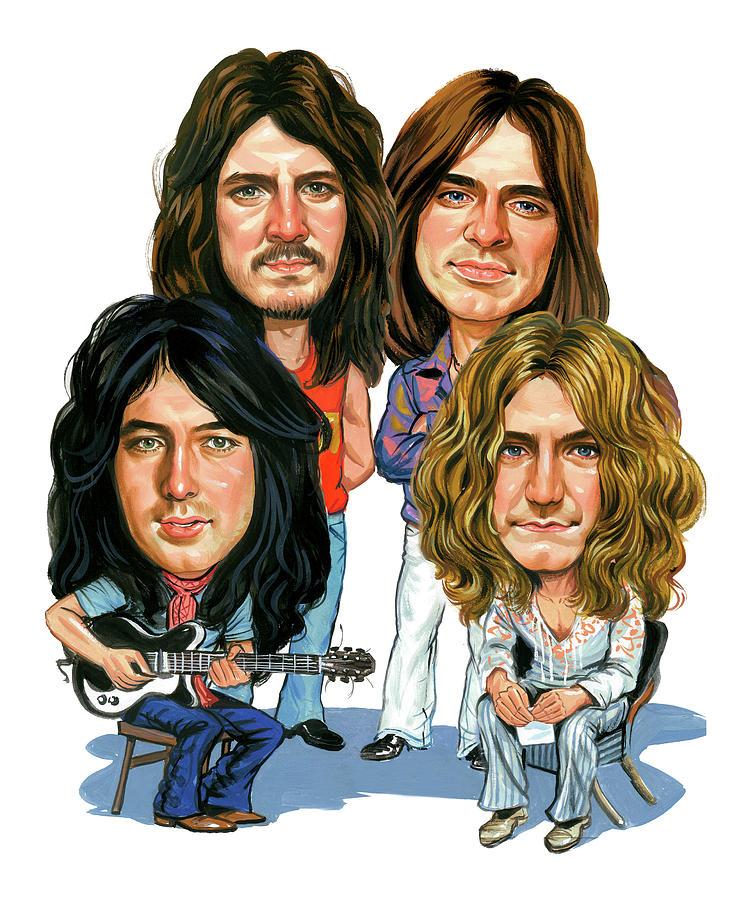 Led Zeppelin Painting