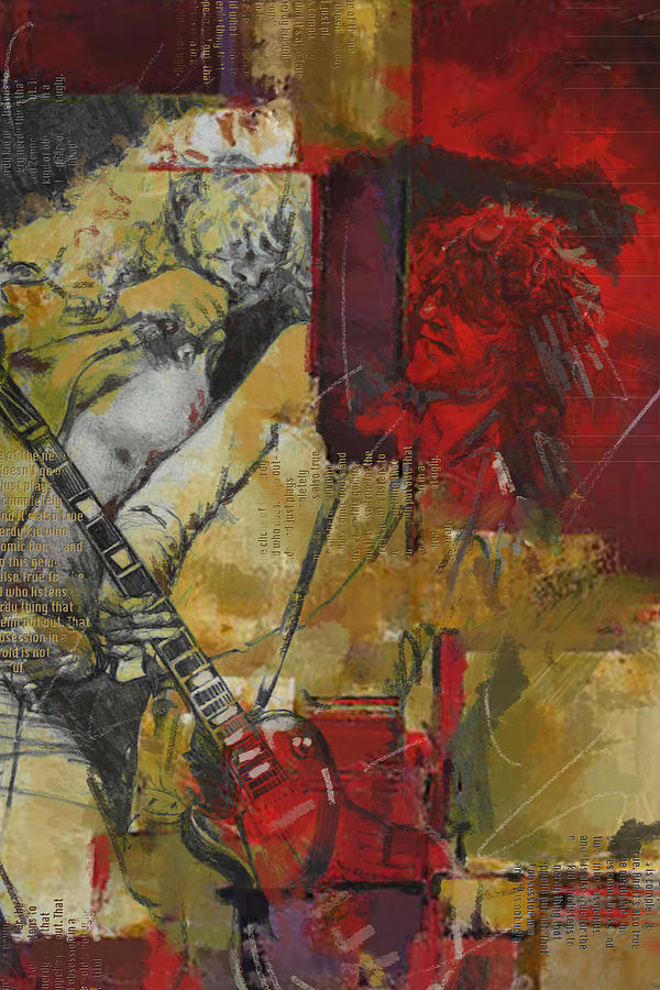 Led Zeppelin Painting - Led Zeppelin by Corporate Art Task Force