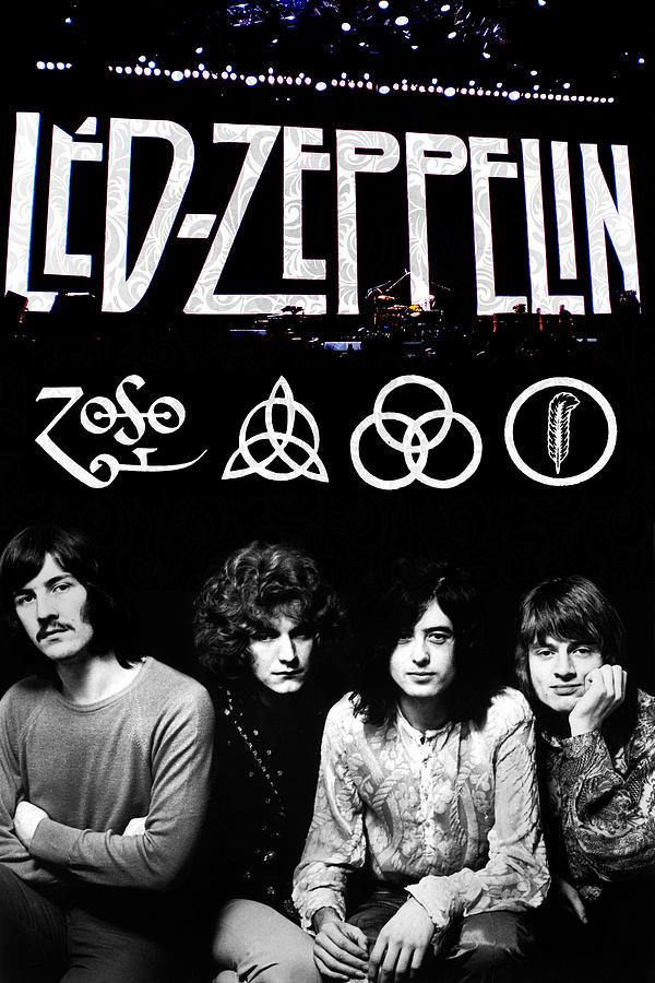 Led Zeppelin Digital Art