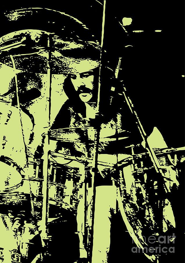 Led Zeppelin Digital Art - Led Zeppelin No.05 by Geek N Rock