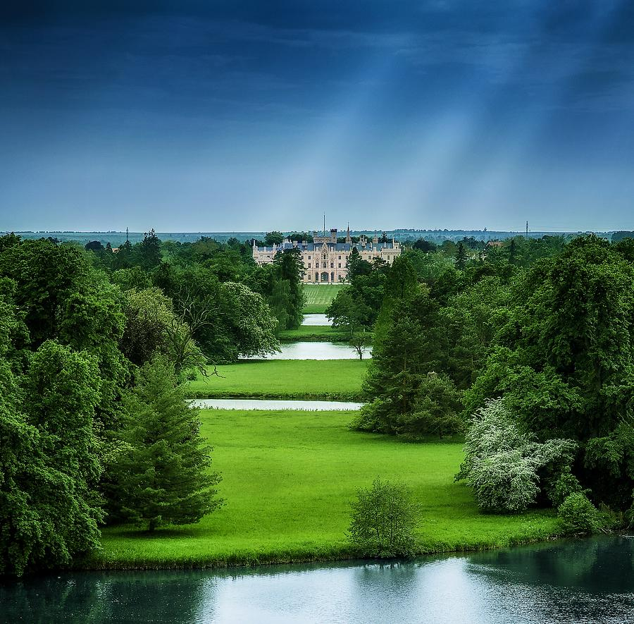Castle Photograph - Lednice by Martin Velebil