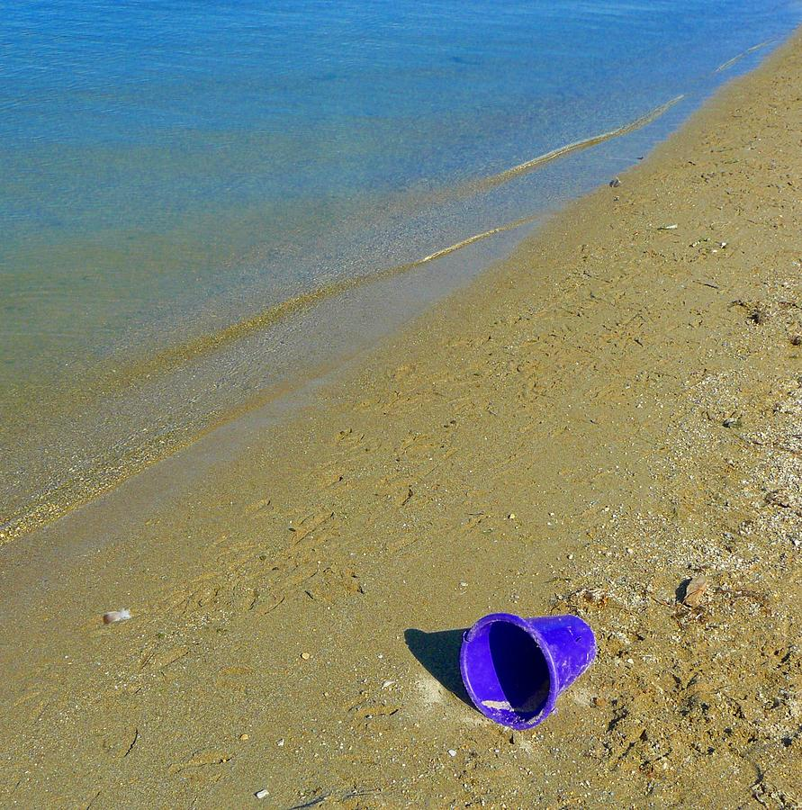 Summer Photograph - Left Behind by Susan Olga Linville