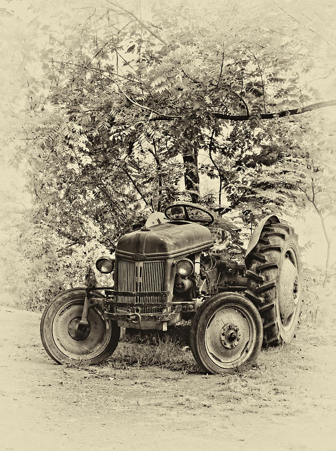 West Virginia Photograph - Left Fielder Antique by Steve Harrington