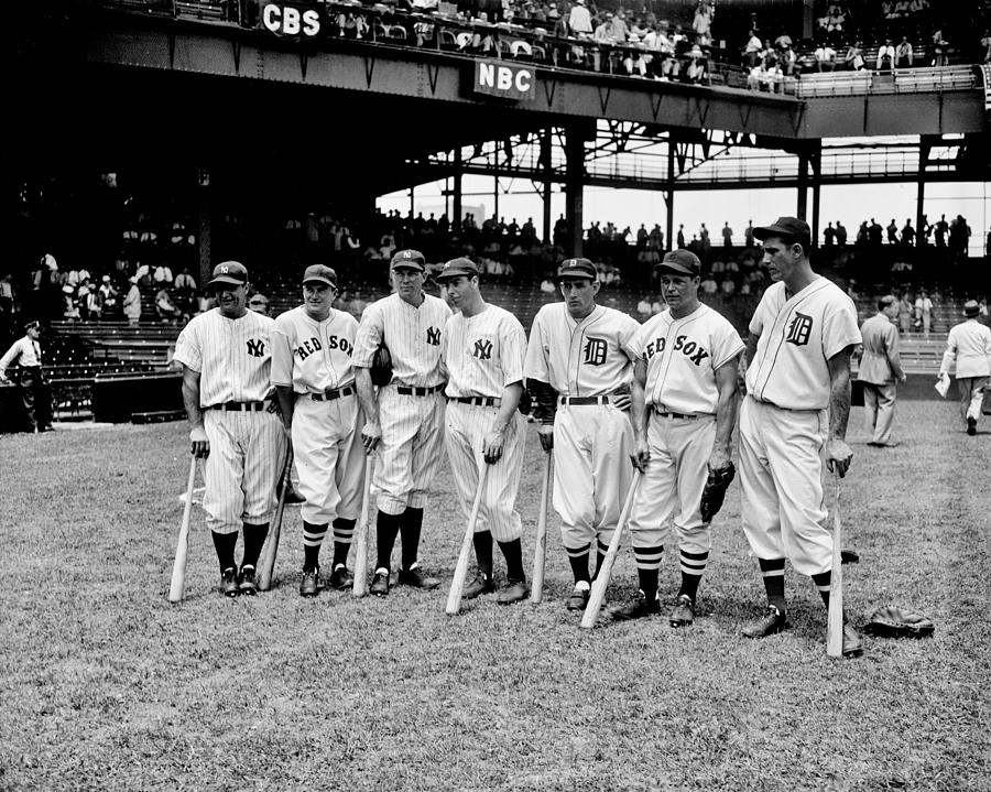 Baseball Photograph - Legends by Benjamin Yeager