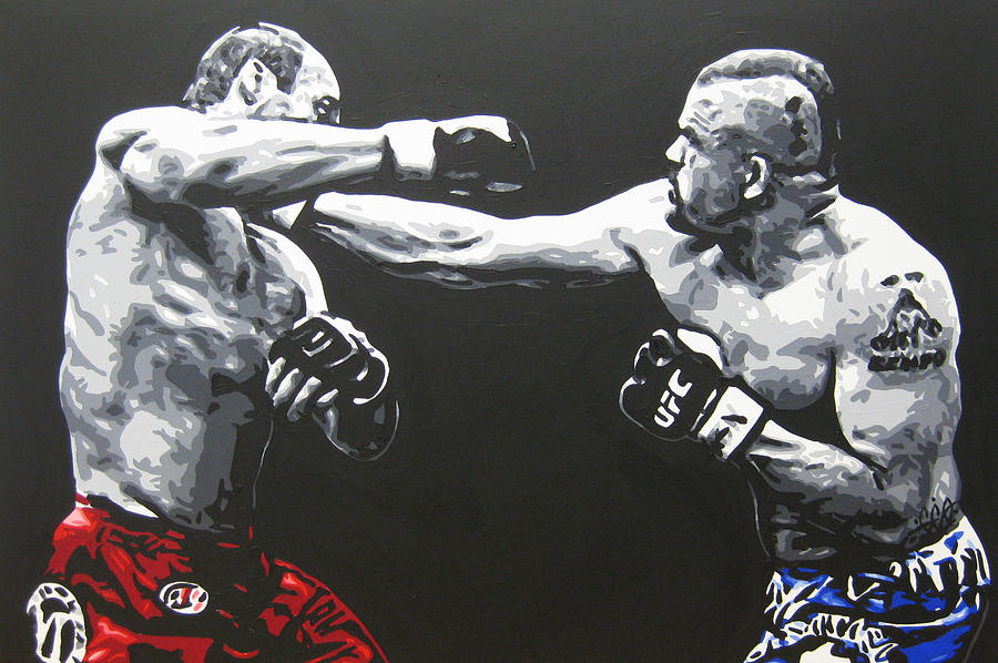 Legends Painting By Geo Thomson