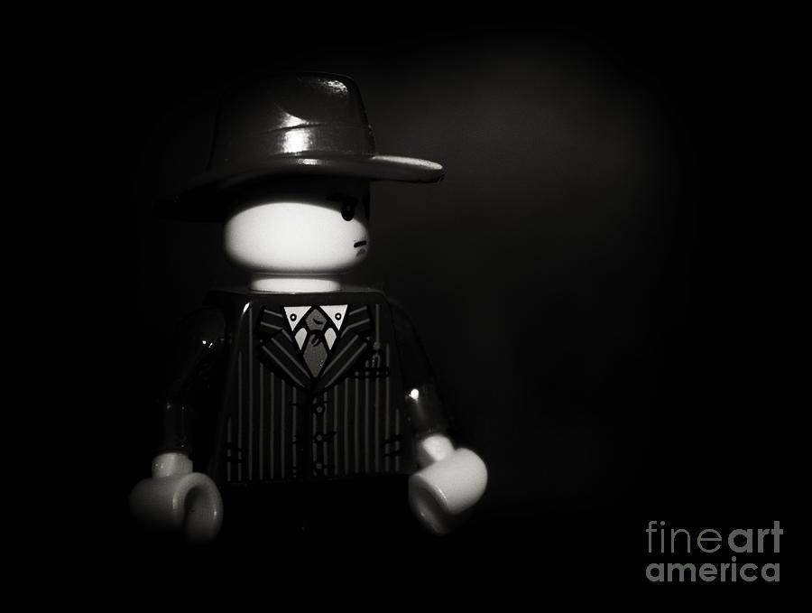 Film Noir Photograph - Lego Film Noir 1 by Cinema Photography
