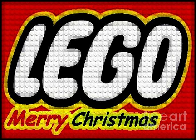 Lego Photograph - Lego Merry Christmas  by Scott Allison