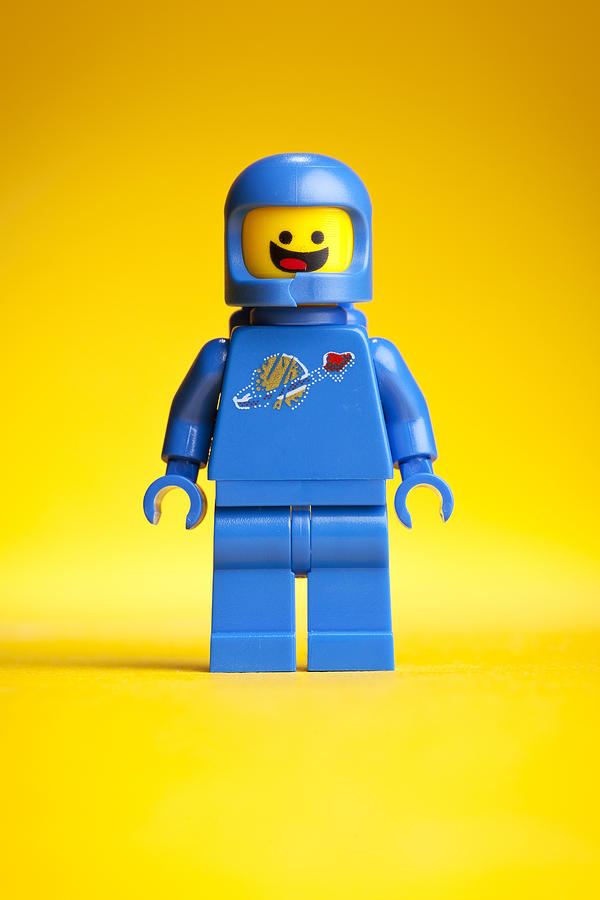 Lego Movie Benny Photograph