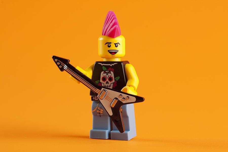 Lego Punk Rocker Photograph