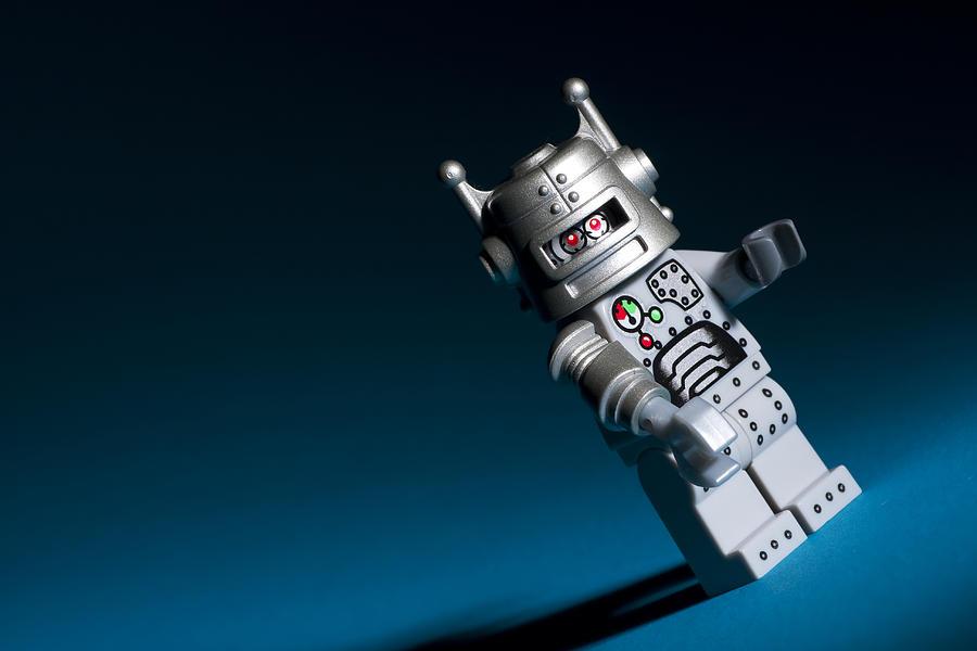 Lego Photograph - Lego Robot by Samuel Whitton