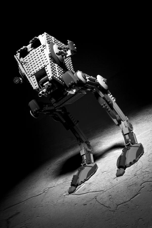 At-st Photograph - Lego Star Wars AT-ST by Samuel Whitton