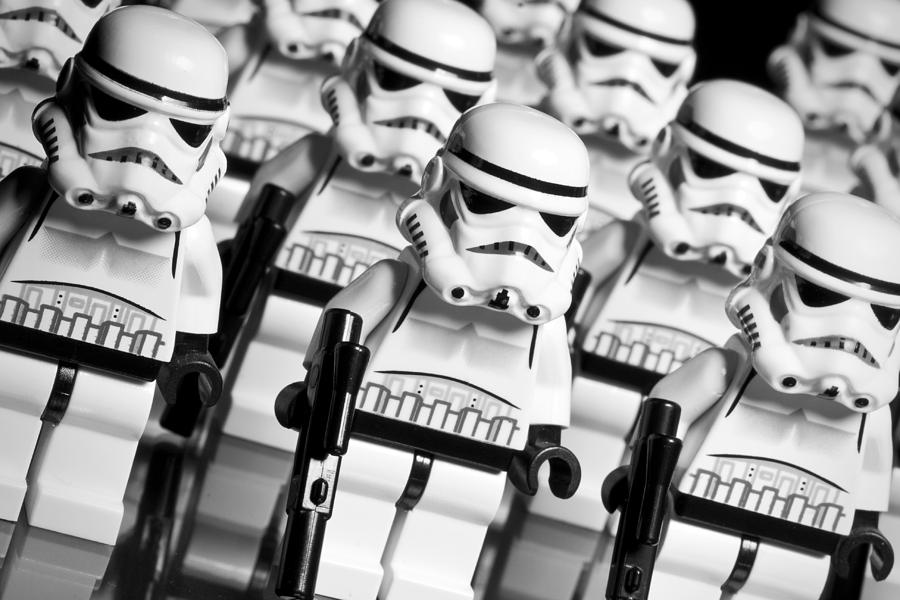 Lego Storm Trooper Army Photograph