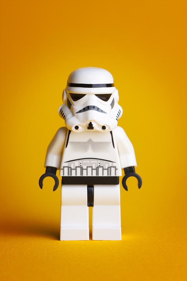 Lego Photograph - Lego Storm Trooper by Samuel Whitton