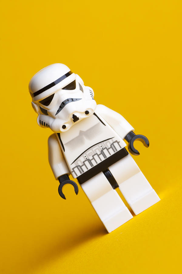 Lego Stormtrooper Photograph