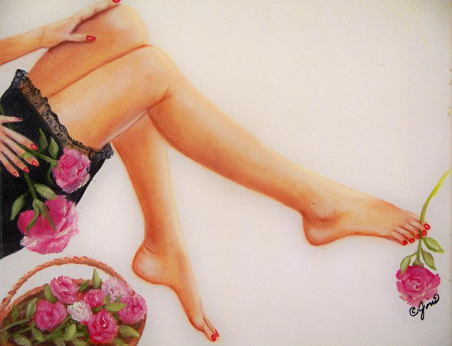Legs and Roses by Joni McPherson