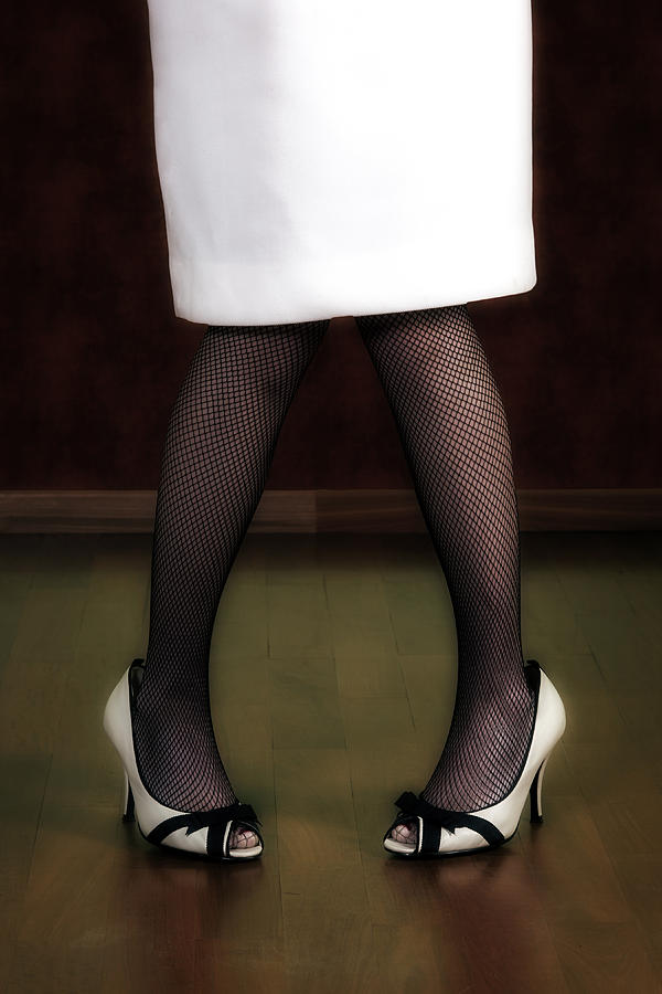 Woman Photograph - Legs And Shoes by Joana Kruse