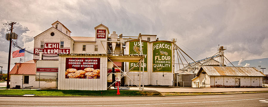 Lehi Roller Mills Photograph