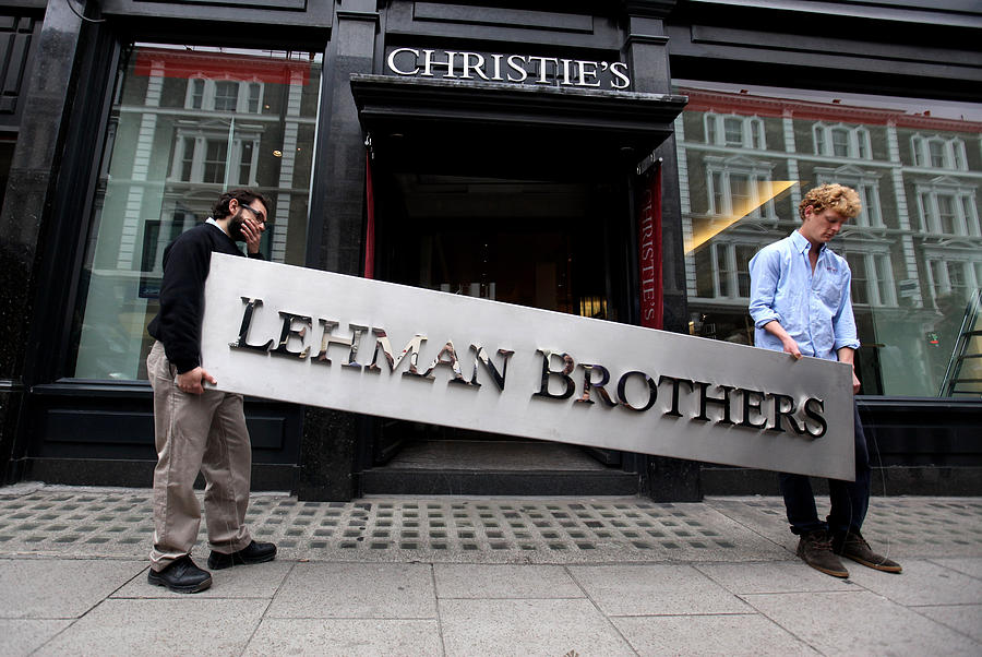 Lehman Brothers Put Their Artworks Up For Auction Photograph by Oli Scarff