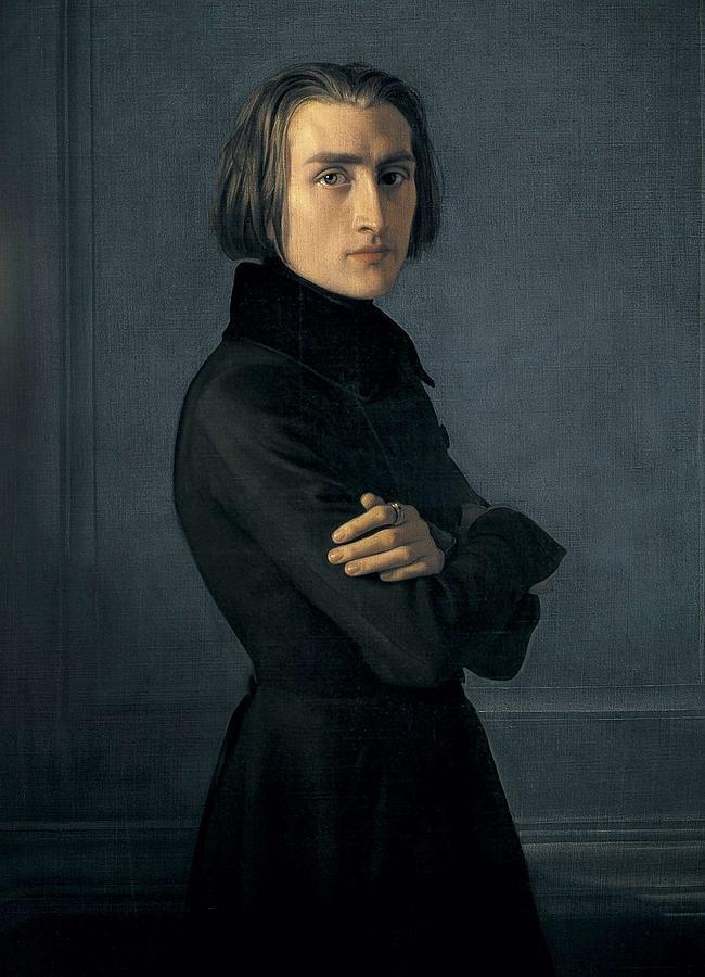 Vertical Photograph - Lehmann, Heinri 1814-1882. Portrait by Everett
