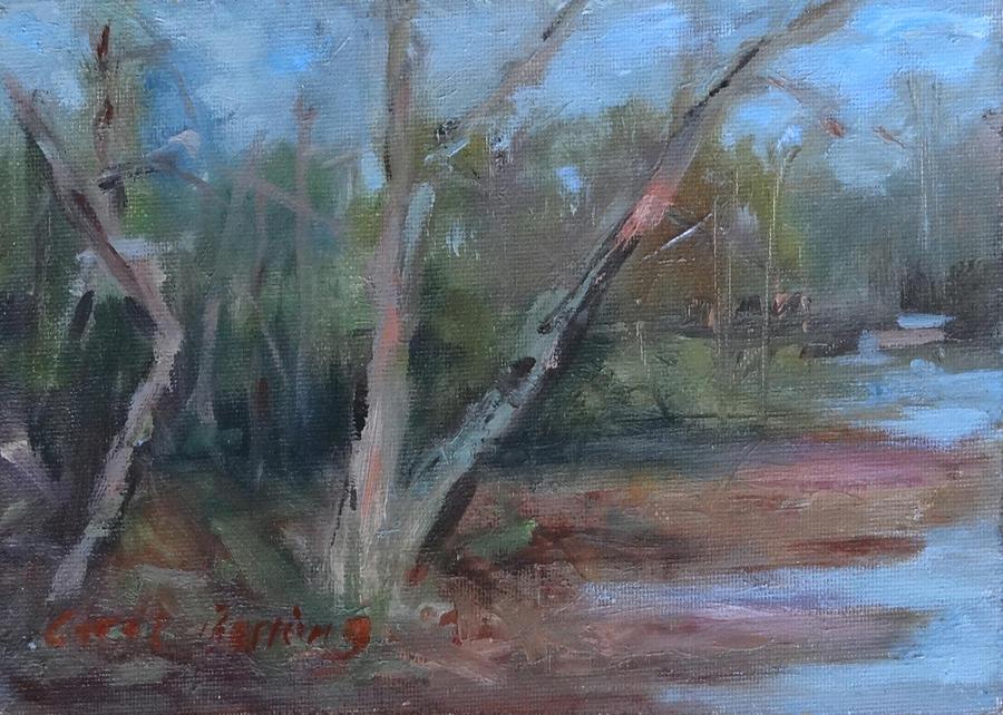 Leiper's Creek Painting - Leipers Creek Study by Carol Berning