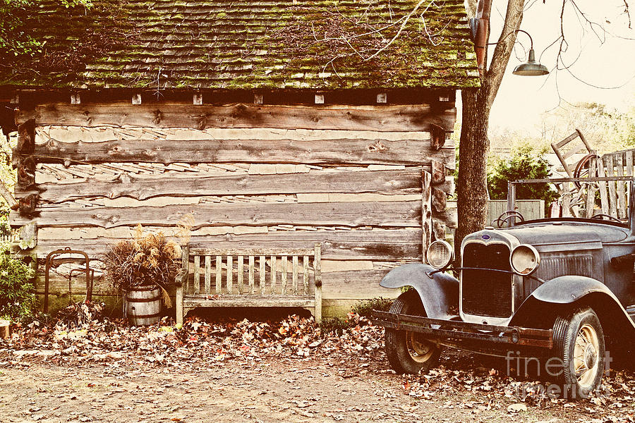 Old Buildings Photograph - Leipers Fork by Jeff Holbrook