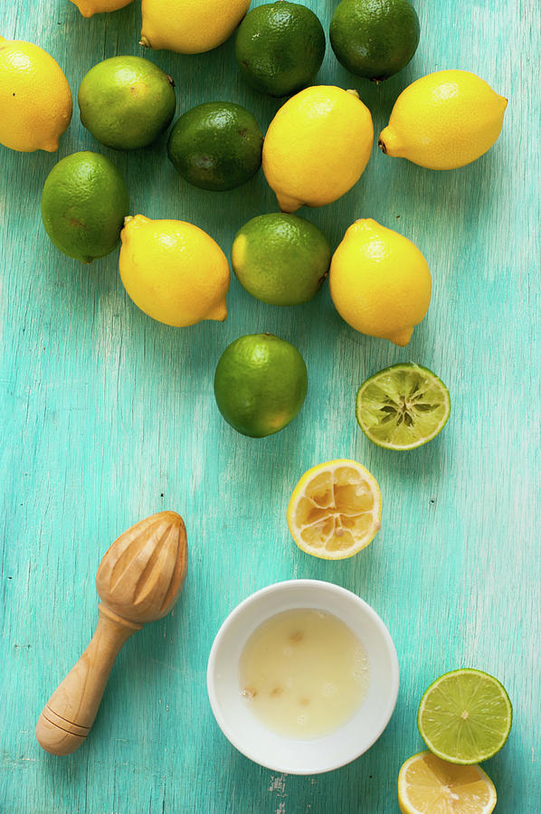 Lemon And Lime Photograph by Photo By Asri Rie