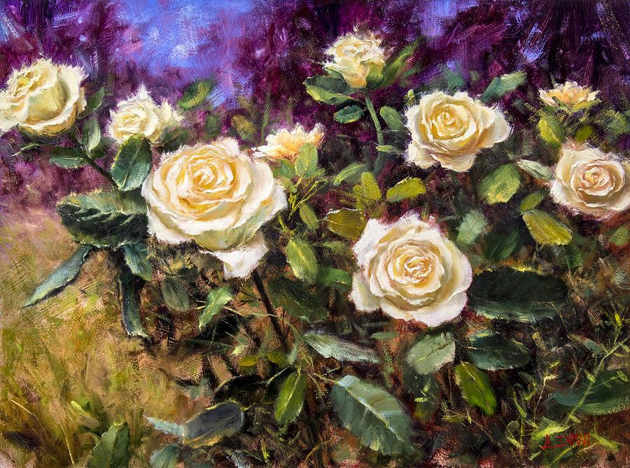 Beautiful Painting - Lemon Custard by Bill Inman