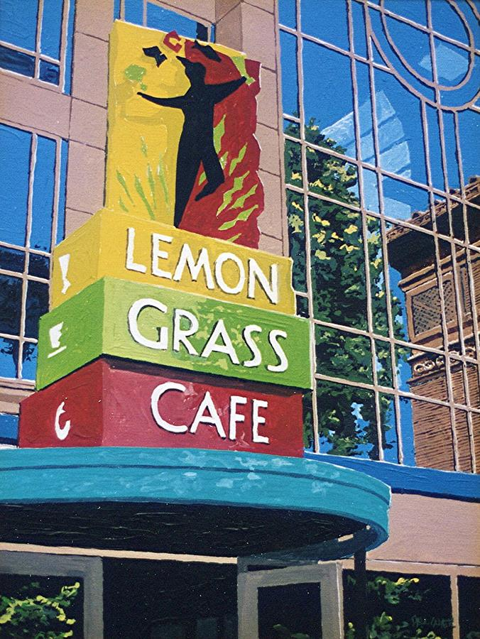 Sacramento Painting - Lemon Grass by Paul Guyer