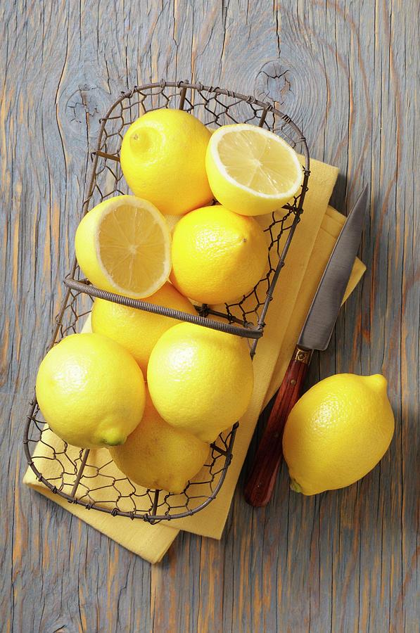 Lemon Photograph by Riou