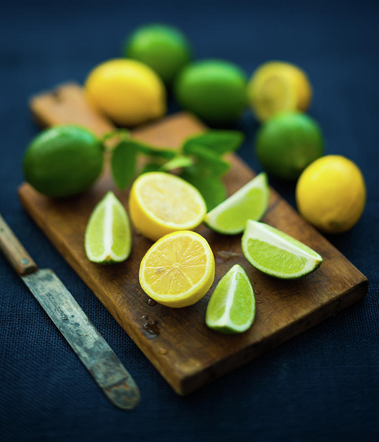 Lemons And Limes Photograph by Thepalmer
