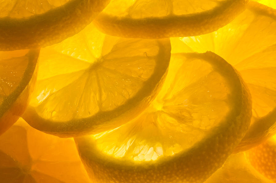 Lemon Photograph - Lemons by Linda Mcfarland
