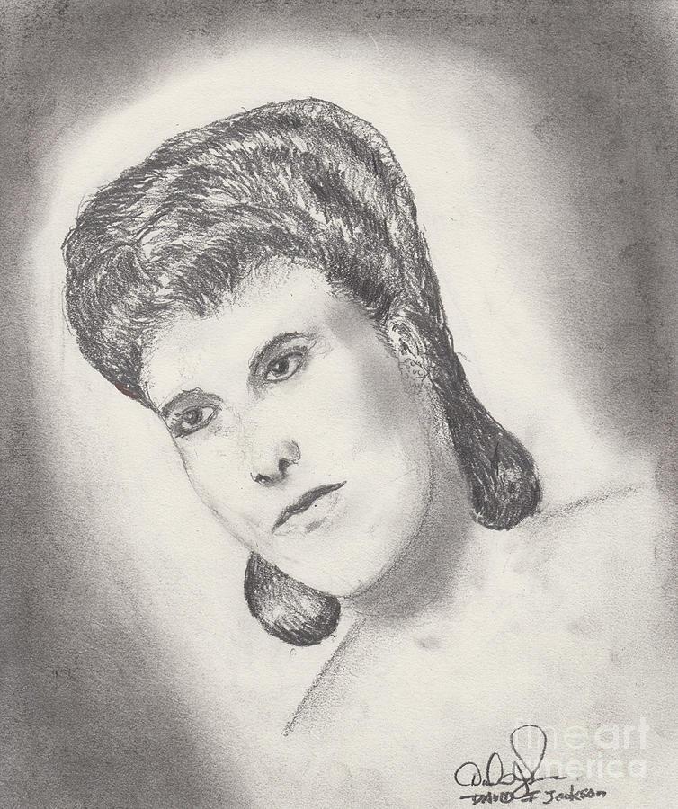 Lena Horne Drawing - Lena Horne by David Jackson