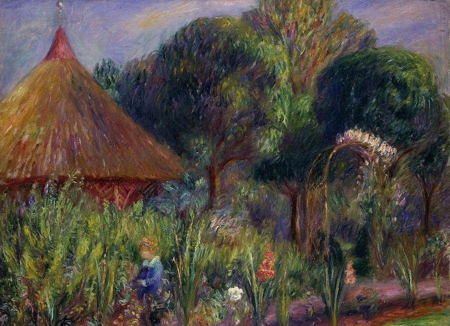 Lenna By A Summer House Painting by William James Glackens