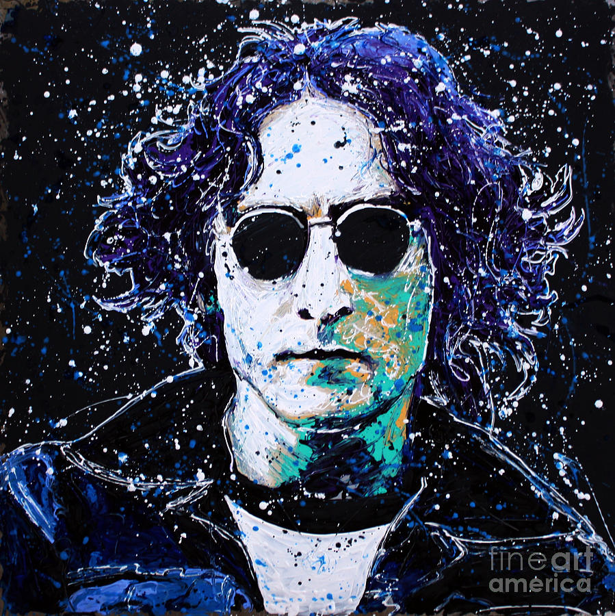 Lennon Painting - Lennon by Chris Mackie
