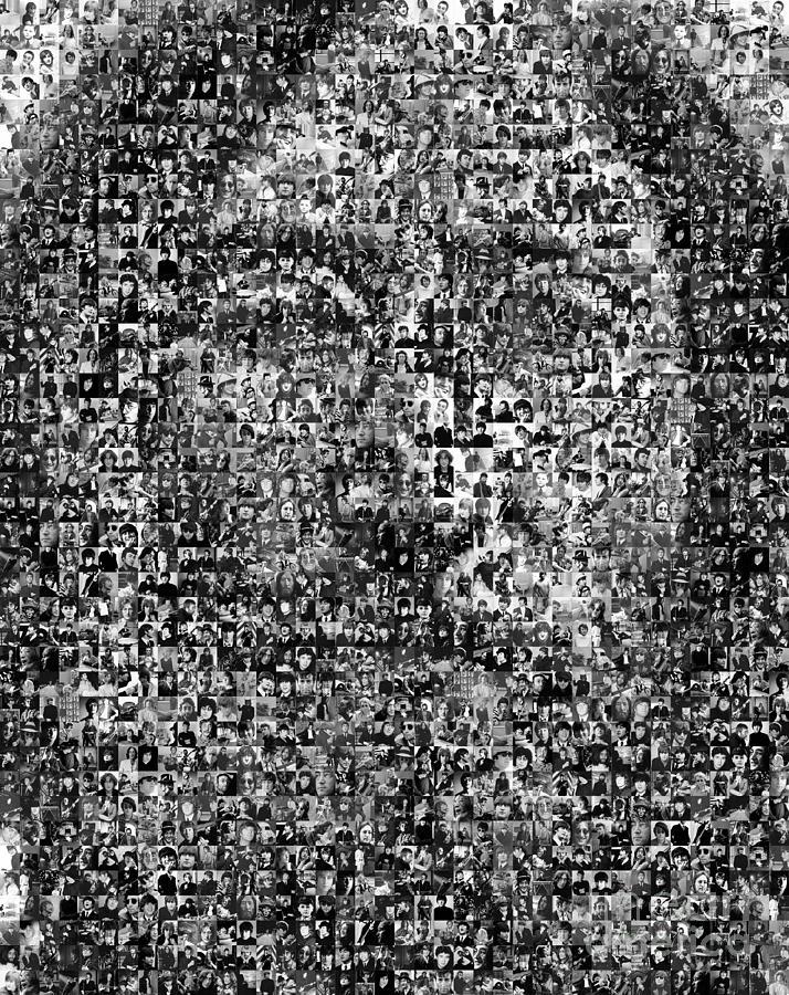 John Lennon Photograph - Lennon by Philip G