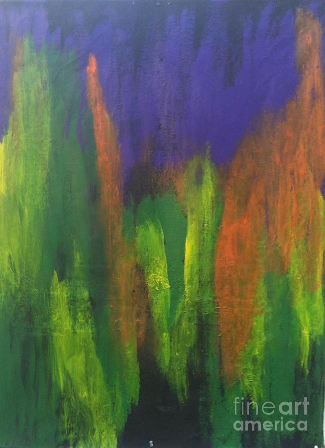 Freydoon Rassouli Painting - Lentree Av Jardin by Bebe Brookman