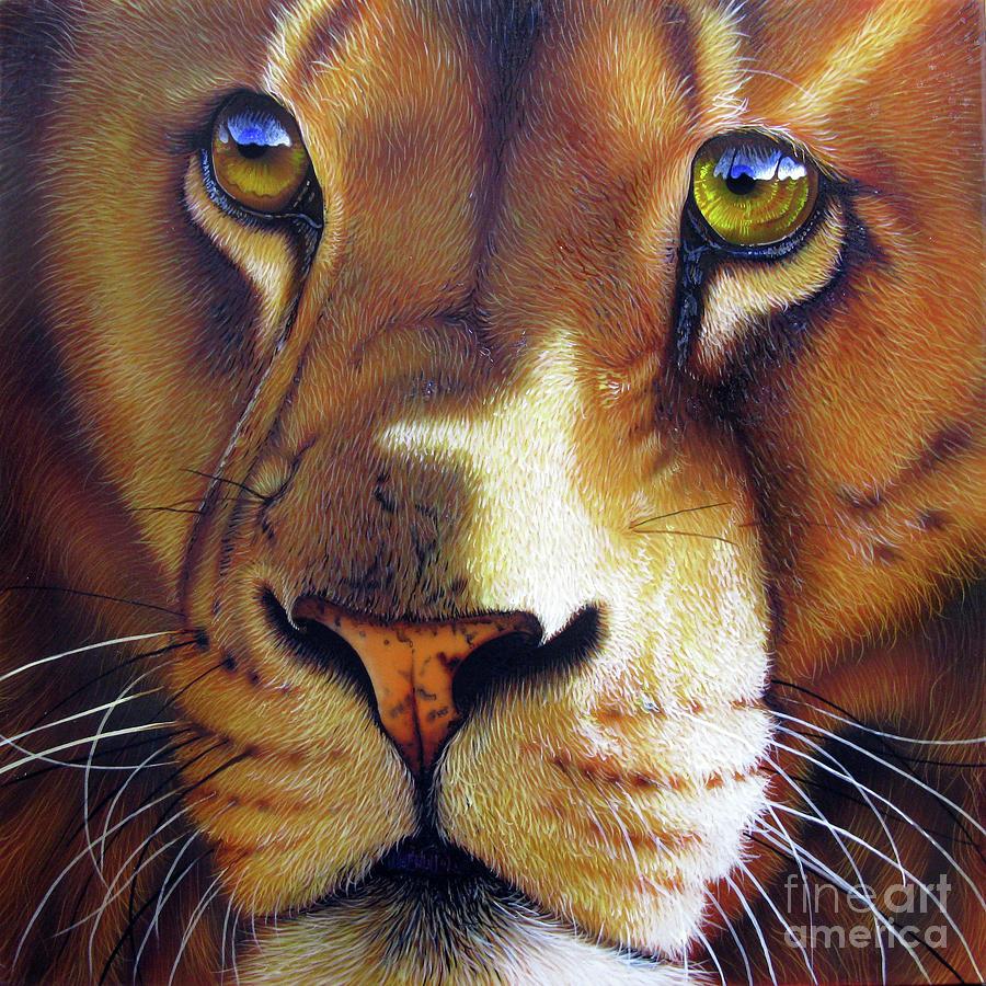 Leo Painting - LEO by Jurek Zamoyski
