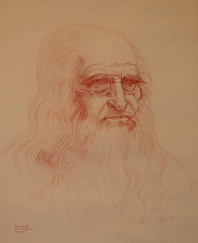 Leonardo Drawing - Leo by Robert Fenwick May Jr